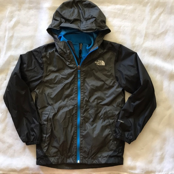 3f632214a Boys North Face Dryvent jacket and liner fleece